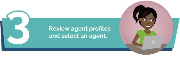 connect with your real estate agent