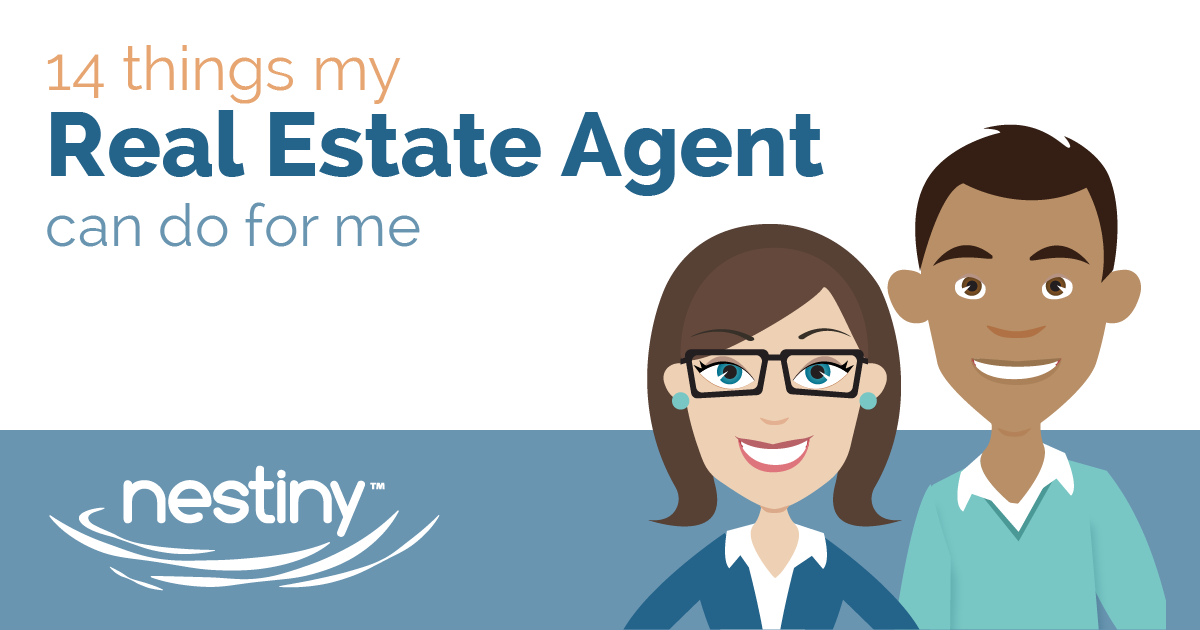 14 things your Real Estate Agent can do for you infographic
