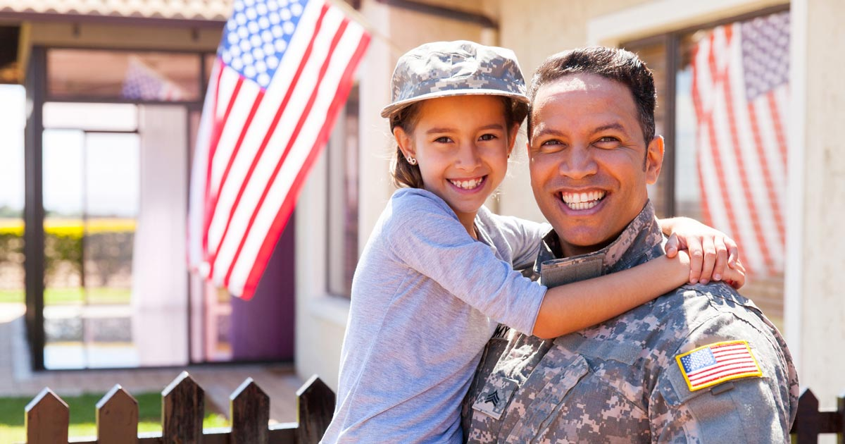 Military family buying a house benefits