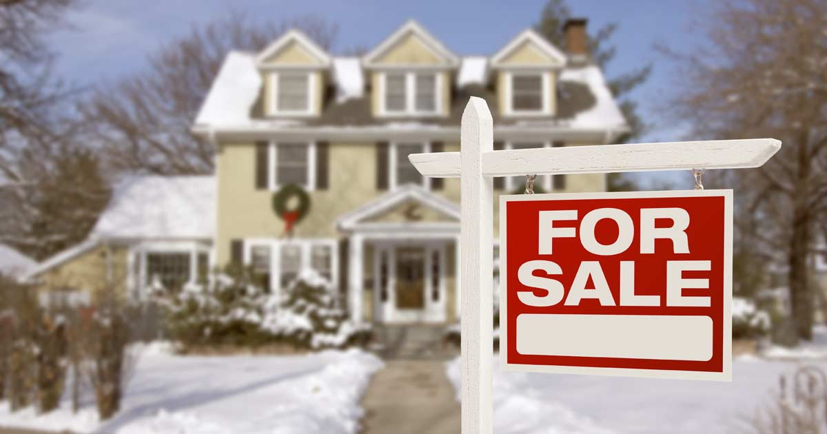 selling your house in the spring, summer, fall, winter