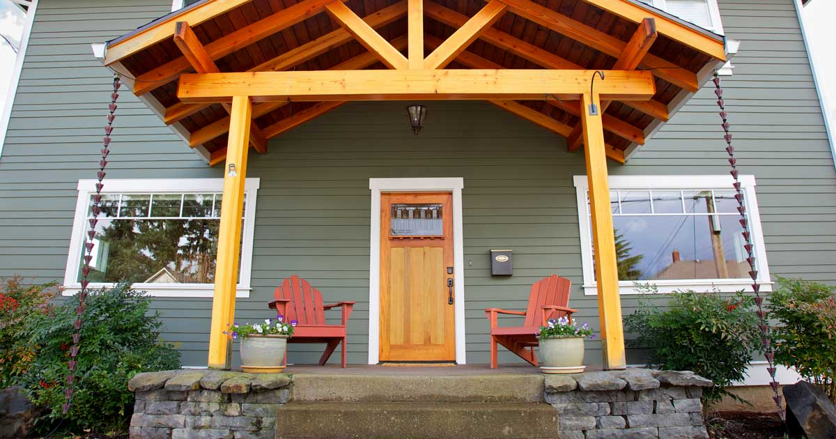Staging your front porch for a great first impression