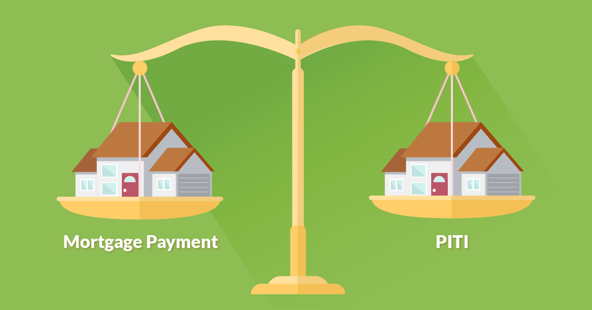 mortgage payment vs PITI