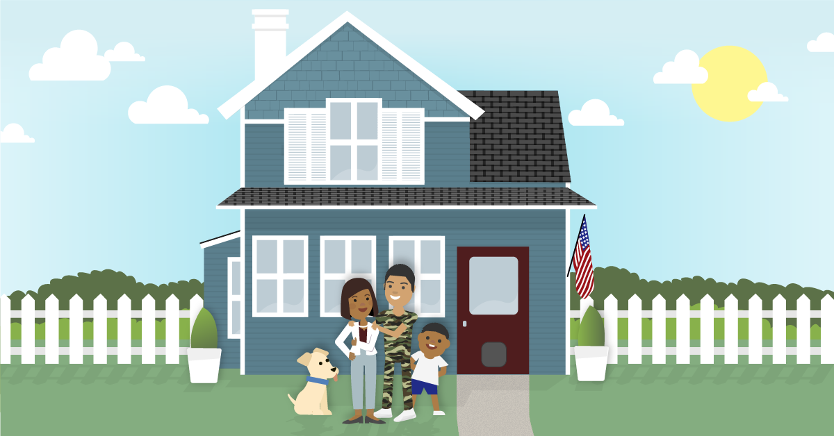 Military Family Buying a Home