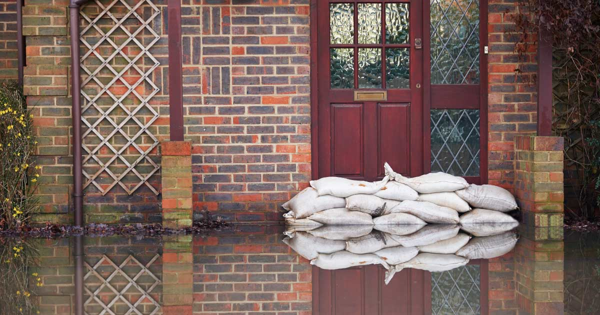 How to protect your home in a flood.