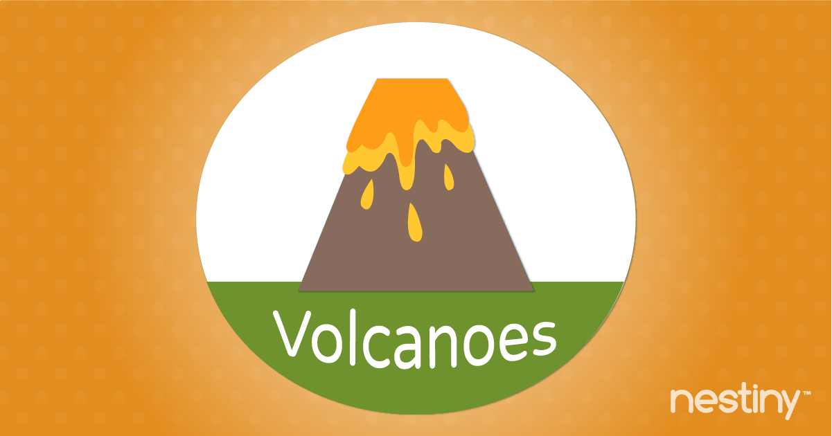 Prepare home for a volcano.