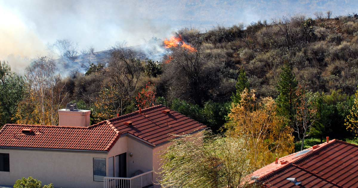 How to protect you home from wildfires.