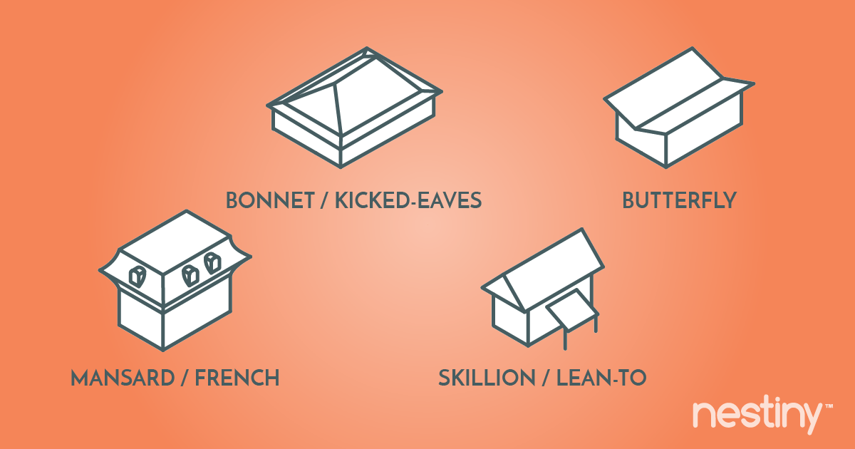 Compare types of roofs