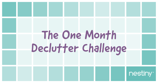 The One Month Declutter Challenge