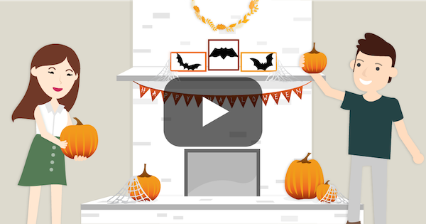How to celebrate Halloween with home decorating ideas on a budget