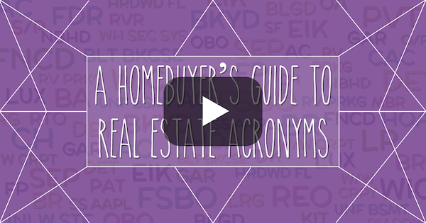 Real Estate Acronyms Every Homebuyer Should Know