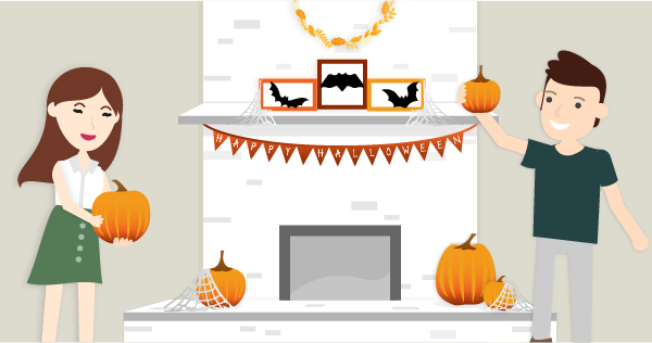 How to celebrate the coolest Halloween ever with home decorating ideas on a budget